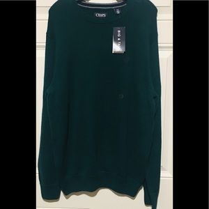 Chaps Iconic Crew Sweater Men's Large Tall-New!